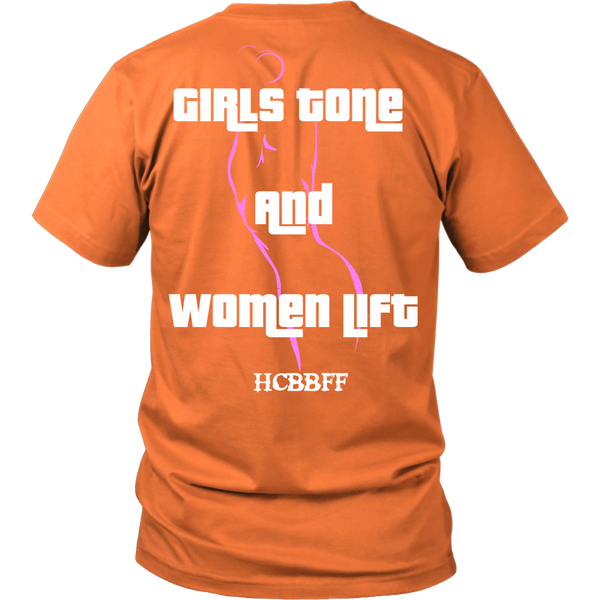 HCBBFF - (Outline) Girls Tone And Women Lift - Back Design