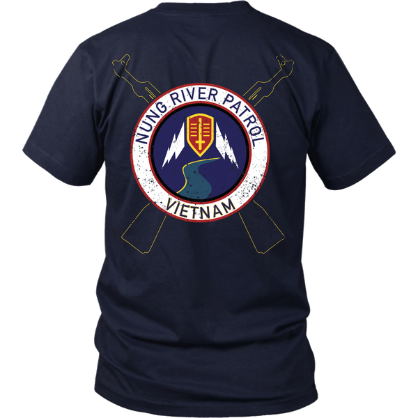 Apocalypse Now - Nung River Patrol (Distressed) - Back Design