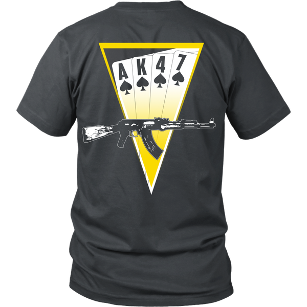 AK47 Playing Cards Triangle - Back Design