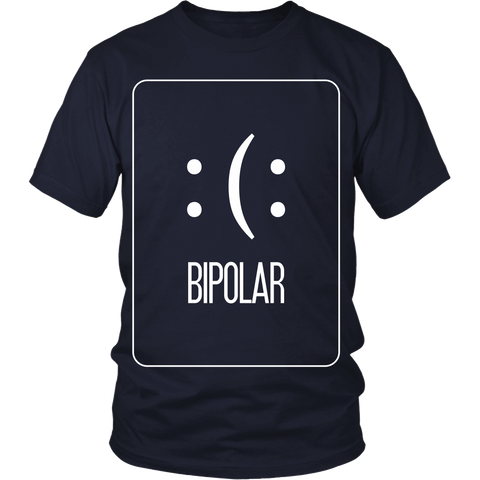 Funny Shirts - BiPolar - Front Design