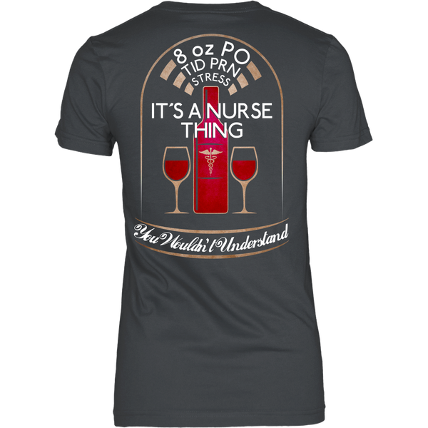 Nurse - It's a nurse thing you wouldn't understand - Back Design