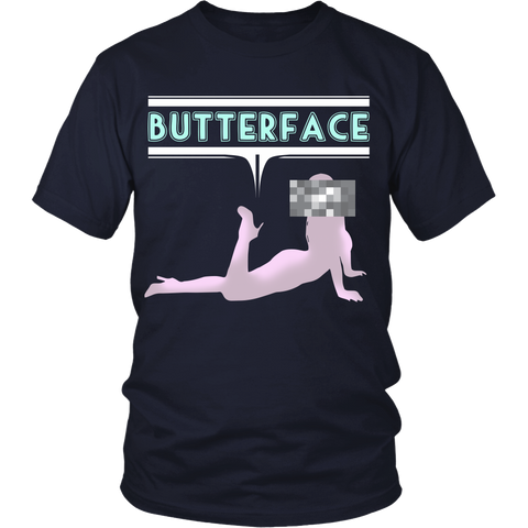 Funny Shirts - Butterface - Front Design