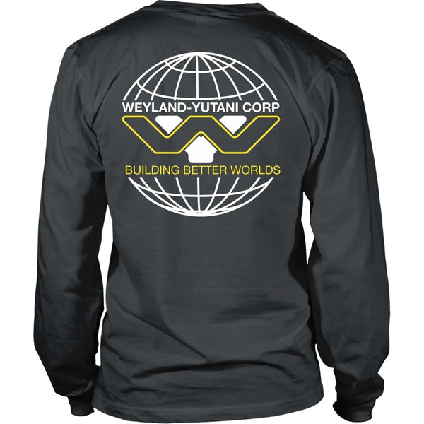 T-shirt - Aliens - Weyland-Yutani Tee - Back Design