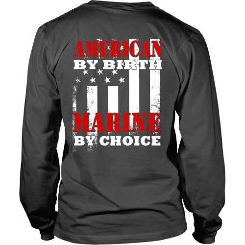 Marines T-Shirt - American By Birth