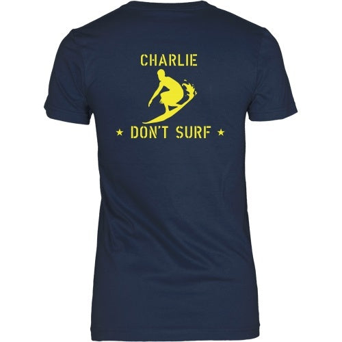 T-shirt - Apocalypse Now - Charlie Don't Surf