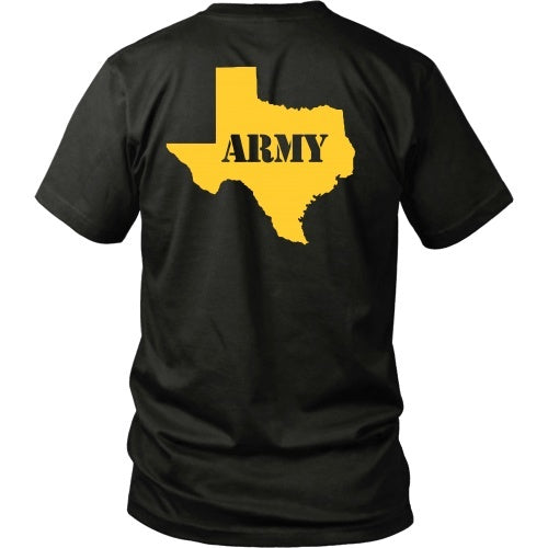 T-shirt - Army - TX Back