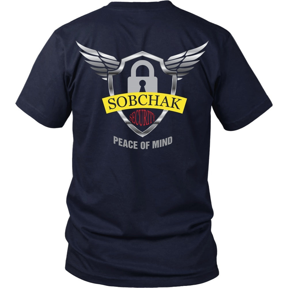 T-shirt - Big Lebowski - Sobchak Security - Back Design