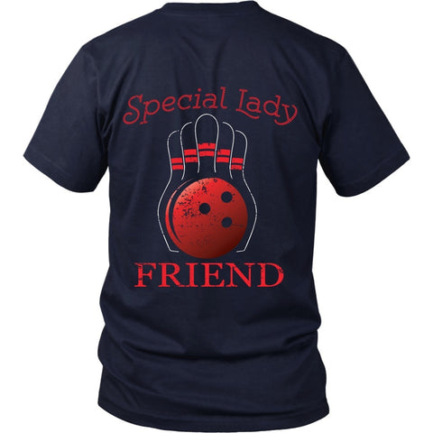 T-shirt - Big Lebowski - Special Lady Friend Ball- Back Design