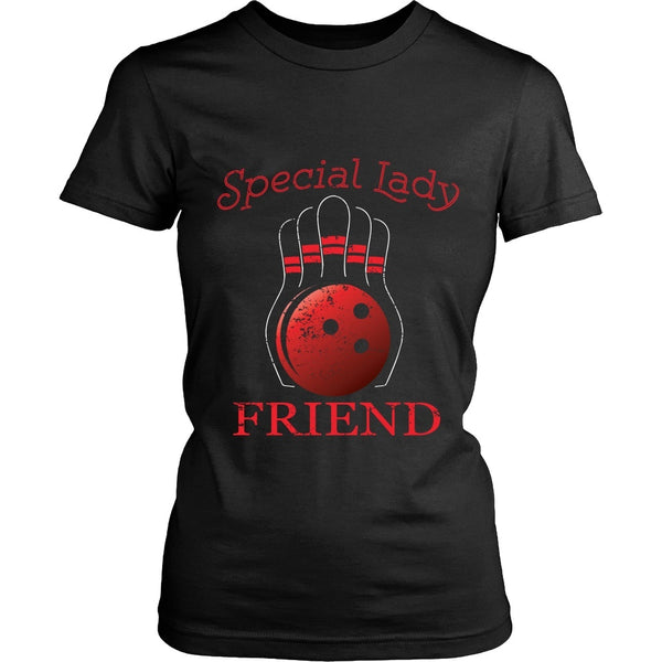 T-shirt - Big Lebowski - Special Lady Friend Ball- Front Design