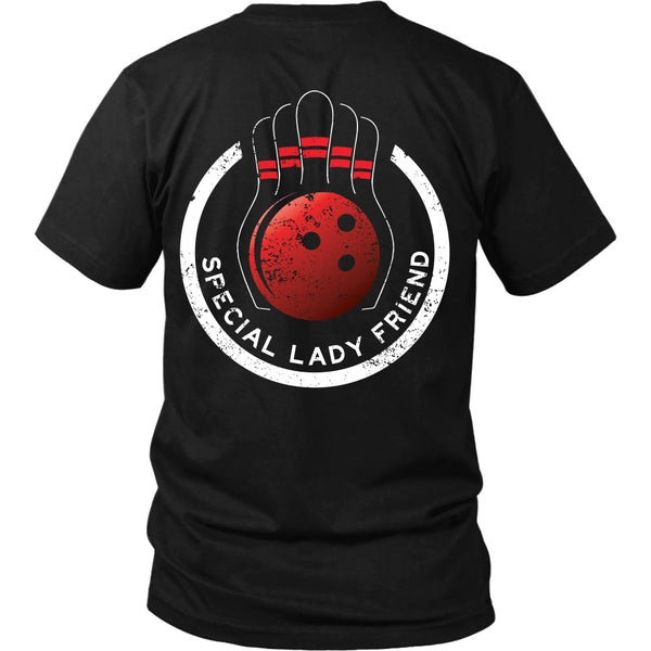 T-shirt - Big Lebowski - Special Lady Friend Circle - Back Design