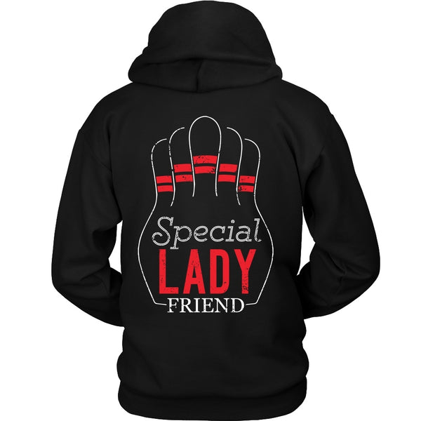 T-shirt - Big Lebowski - Special Lady Friend Pins - Back Design
