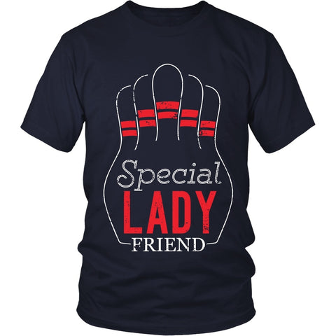 T-shirt - Big Lebowski - Special Lady Friend Pins - Front Design