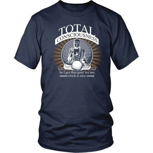 T-shirt - Caddyshack - Total Conciousness - Front Design