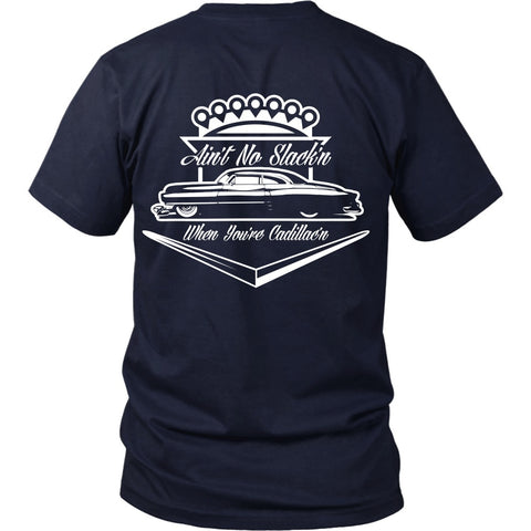 T-shirt - Cadillac Lover's Tee  - Back Design