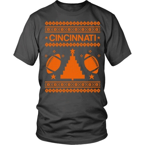 T-shirt - Cincinnati Ugly Sweater Tee