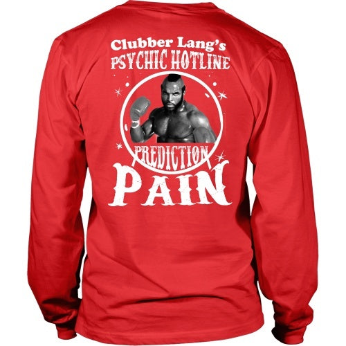 T-shirt - Clubber's Psychic Hotline-Back