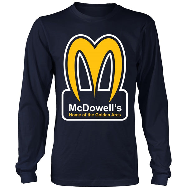 T-shirt - Coming To America - McDowells - Front Design