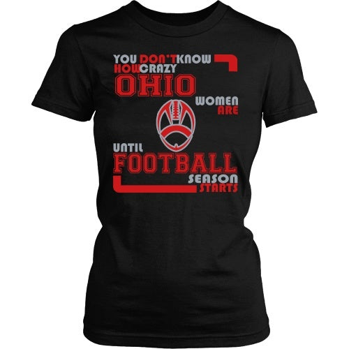 T-shirt - Crazy Ohio Women