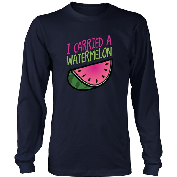 T-shirt - Dirty Dancing - I Carried A Watermelon (version B) - Front Design