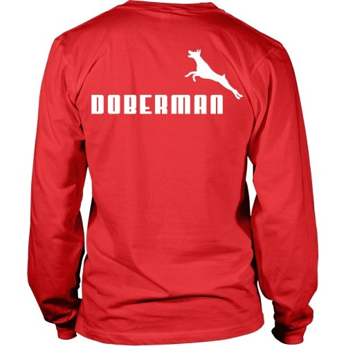T-shirt - Doberman Puma Logo - Back