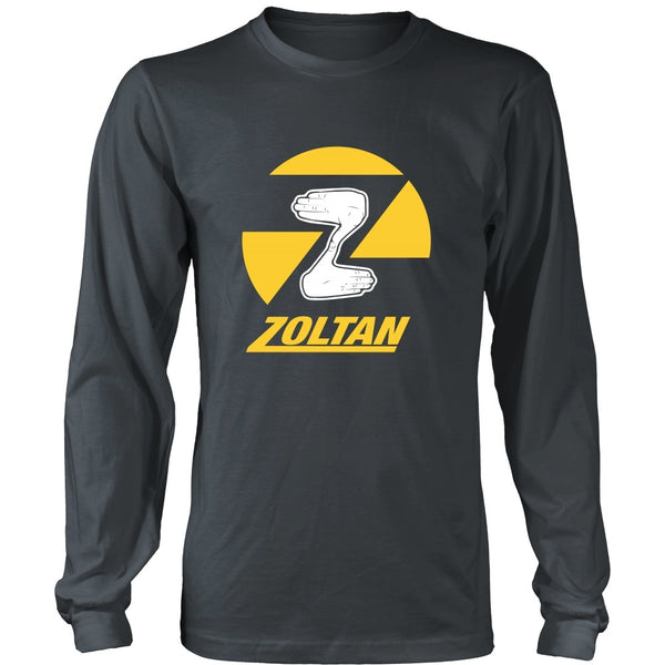T-shirt - Dude, Where's My Car - Zoltan (Yellow) - Front Design
