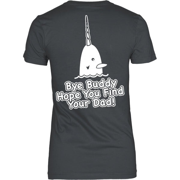T-shirt - Elf - Bye Buddy! - Back Design