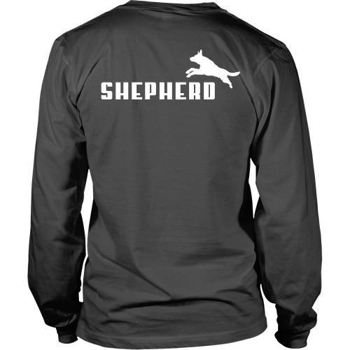 T-shirt - German Shepherd Puma  - Back