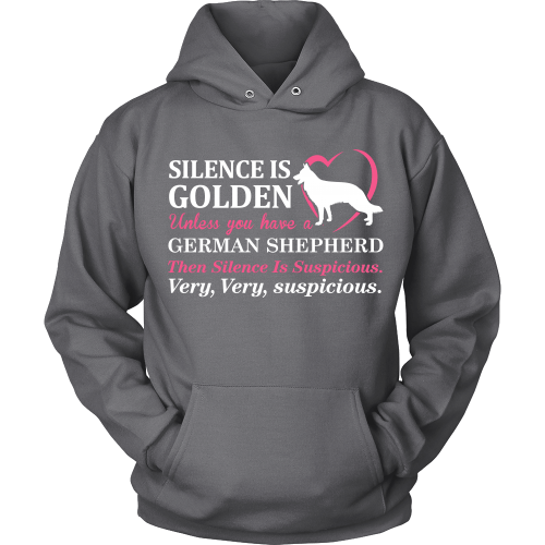 T-shirt - German Shepherd Silence