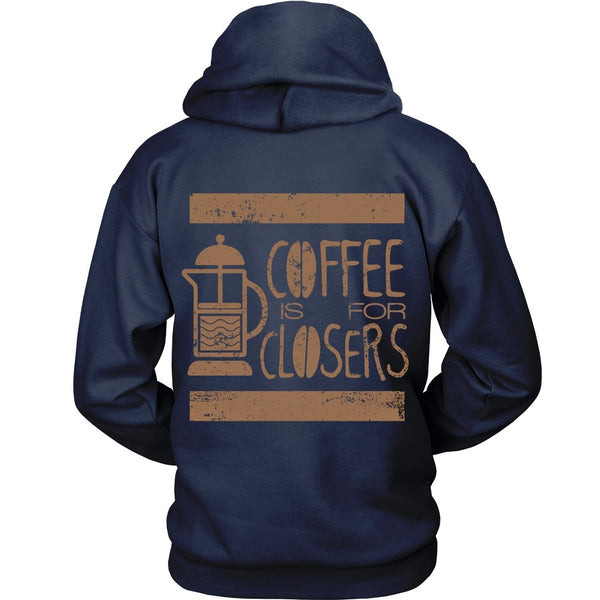 T-shirt - Glen Gary Glen Ross - Coffee Is For Closers Shirt - Back Design