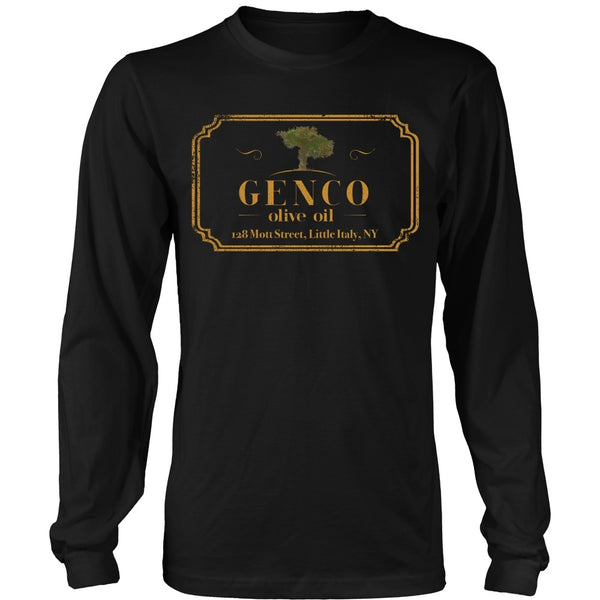 T-shirt - Godfather - Genco Gold - Front Design