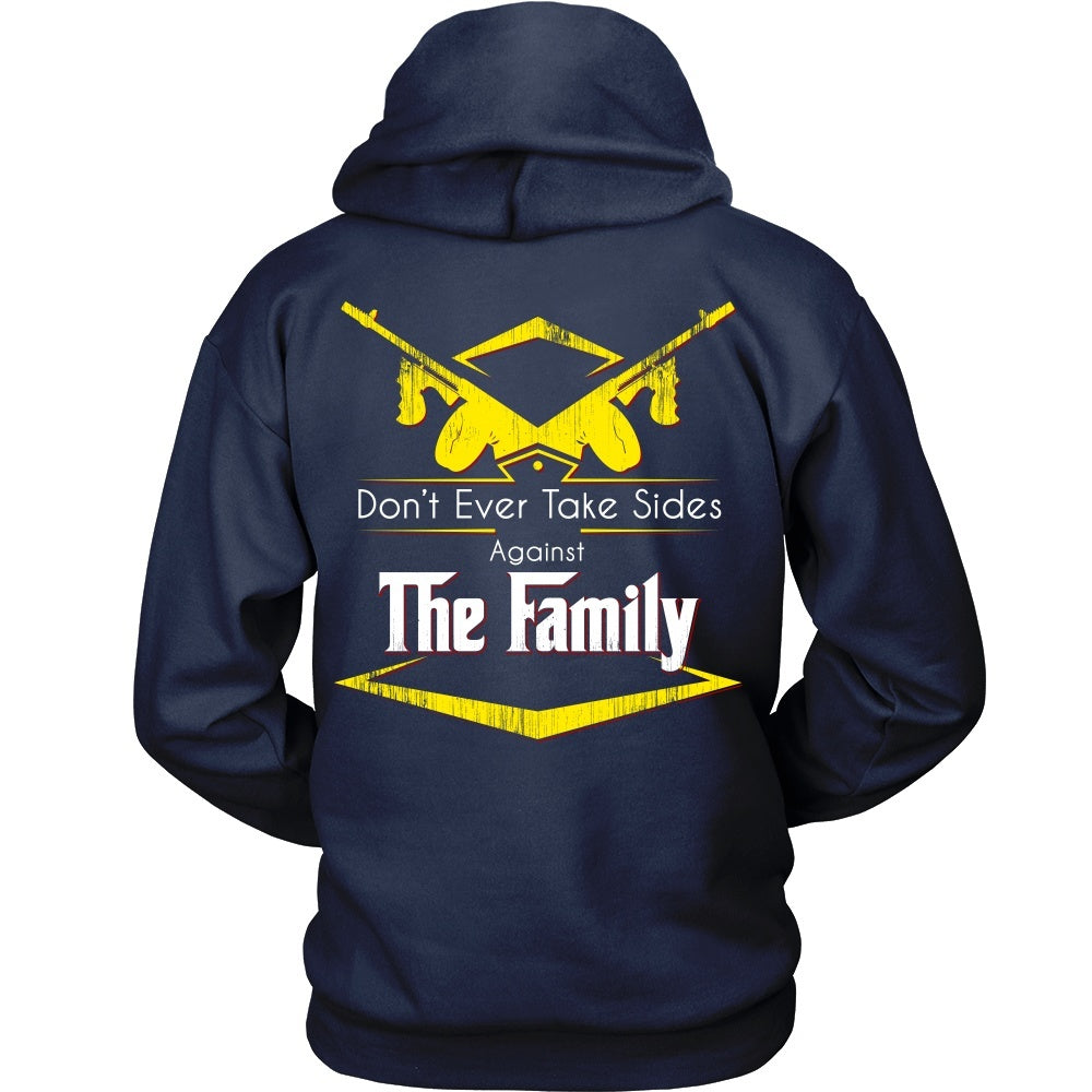 Design tshirt family -  T Shirt Godfather Yellow Don T Ever Take Sides Against