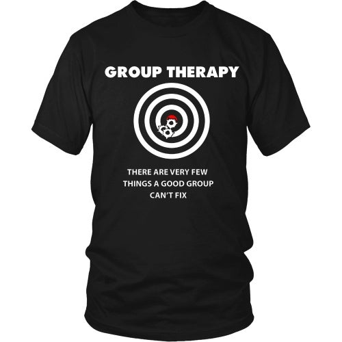 T-shirt - Group Therapy Gun Tee - Front