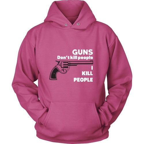 T-shirt - Happy Gilmore: Guns Don't Kill People, I Kill People - Front
