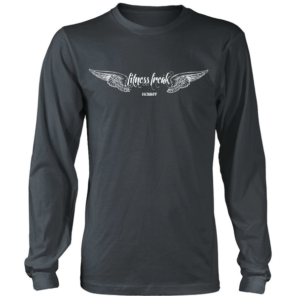 T-shirt - HCBBFF - Fitness Freak Wings (A) - Front Design