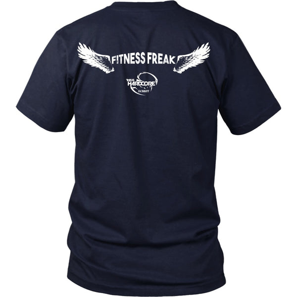 T-shirt - HCBBFF - Fitness Freak Wings (C) - Back Design