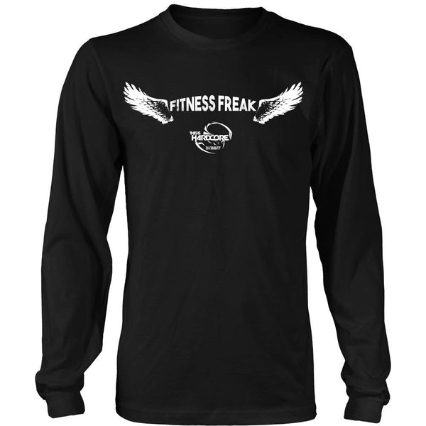 T-shirt - HCBBFF - Fitness Freak Wings (C) - Front Design