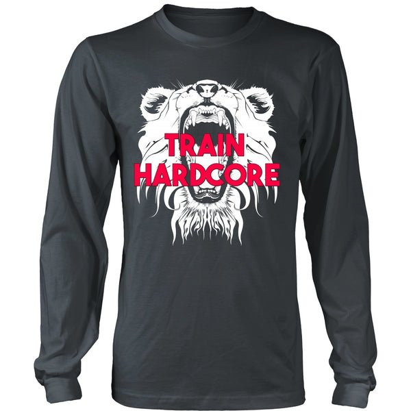 T-shirt - HCBBFF - Train Hardcore - Lion Roar Triangle - Front Design