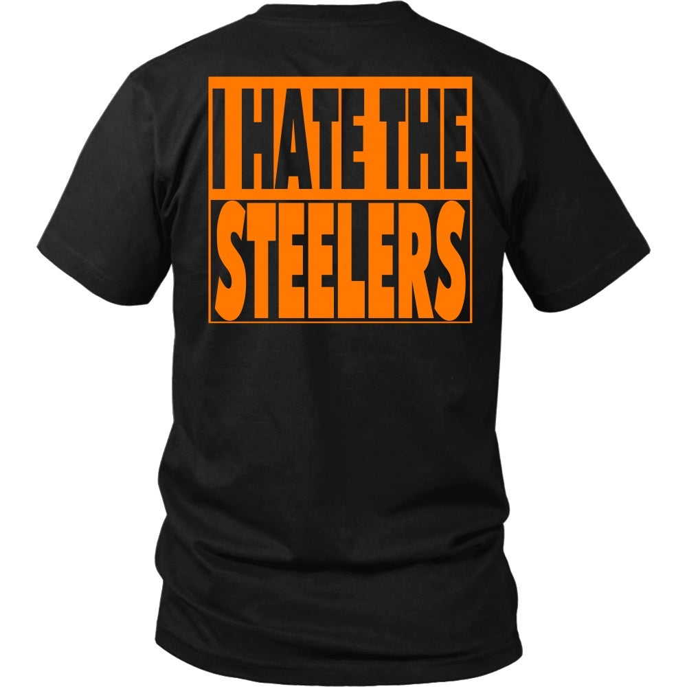 T-shirt - I Hate The Steelers - Back Design