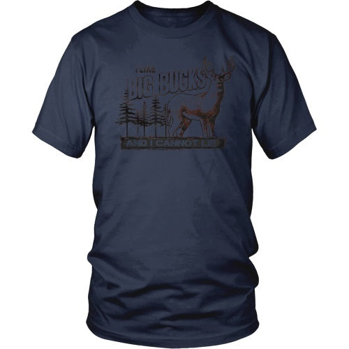 T-shirt - I Like Big Bucks Tee