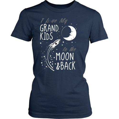 T-shirt - I Love My Grandkids To The Moon And Back - Front