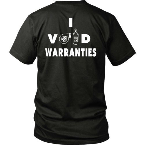 T-shirt - I Void Warranties Tee - Back