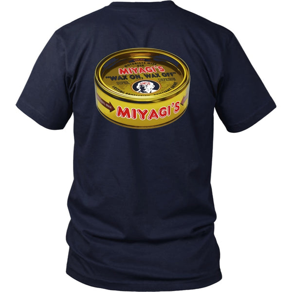 T-shirt - Karate Kid - Miyagi's Wax - Back Design