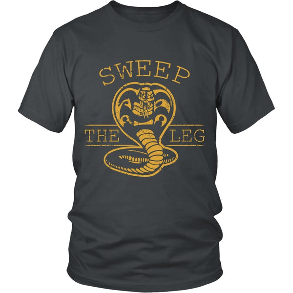 T-shirt - Karate Kid - Sweep The Leg - Front Design