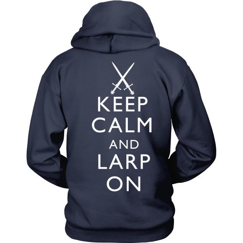 T-shirt - Keep Calm And Larp On - Back