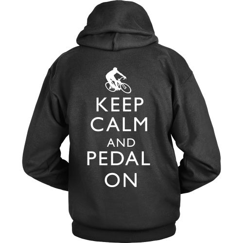 T-shirt - Keep Calm And Pedal On