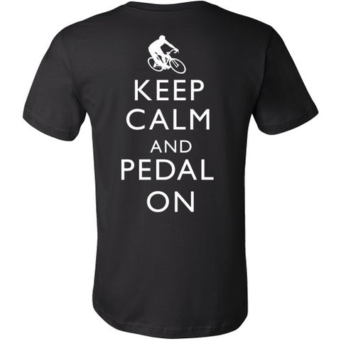 T-shirt - Keep Calm And Pedal On Tee
