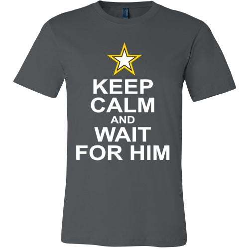 T-shirt - Keep Calm And Wait For Him