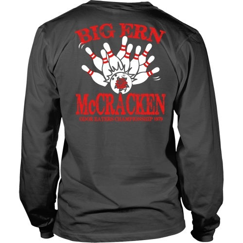 T-shirt - King Pin - Big Ern McCracken - Back Design