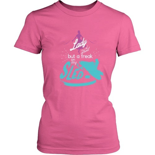 T-shirt - Lady Sled - Front Design