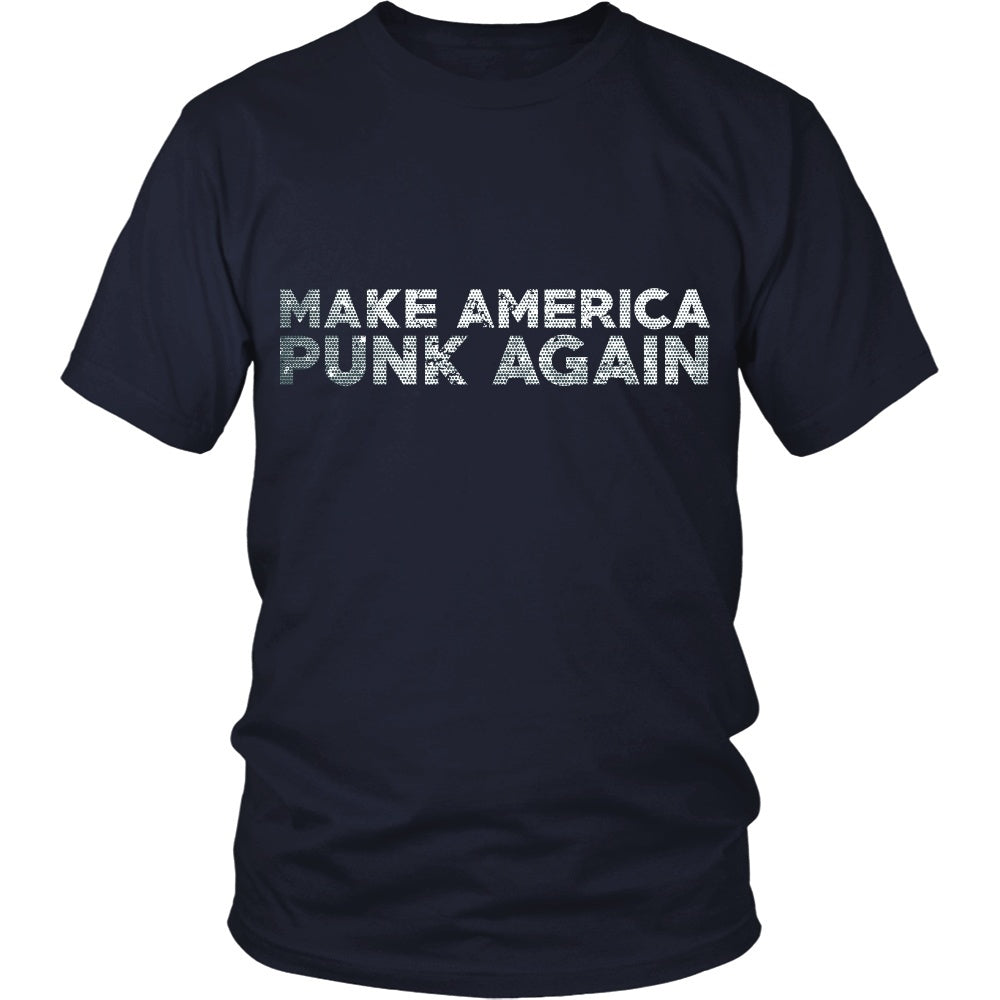 T-shirt - Make America Punk Again - Front Design